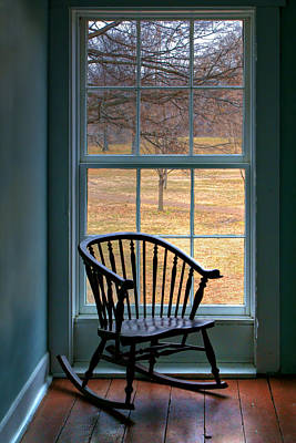 Window In Florissant Art Print