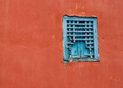 Window In Marrakesh Art Print by Daniel Kocian