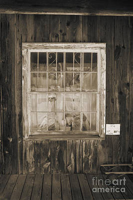 Photograph - Window In Old House With Dolls 3002.01 by M K Miller