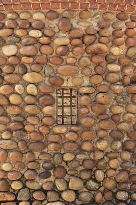 Photograph - Window In Stone Wall by Art Block Collections