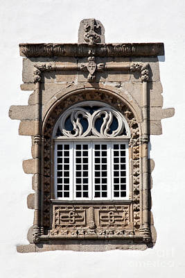 Window Photograph - Window In The Manuelino Style by Jose Elias - Sofia Pereira