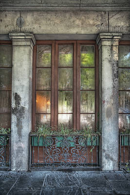 Photograph - Window In The Quarter by Brenda Bryant