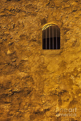 Photograph - Window In Wall At  Fort Castillo San Cristobal In San Juan Puerto Ri by Bryan Mullennix