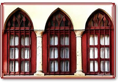 Photograph - Do-00369 Windows In Downtown by Digital Oil
