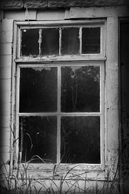Anchor Down - Window by Kelly Hazel