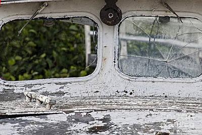 Photograph - Window Missing by Dan Friend