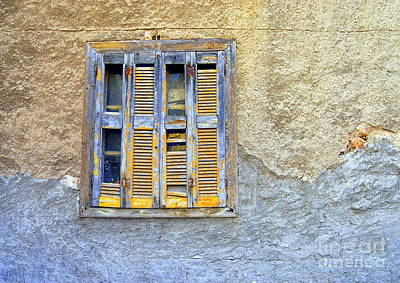 Photograph - Window Nafplio by A K Dayton