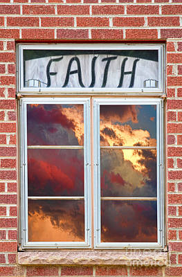 Jesus Photograph - Window Of Faith by James BO  Insogna