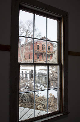 Bannack State Park Photograph - Window Of History  by Fran Riley
