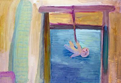 Window  Of My Childhood Art Print by Simonas Pazemeckas