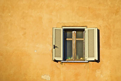 Window Of Rome Art Print