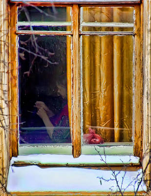 Photograph - Window by Olga and Robert W Hamilton Jr