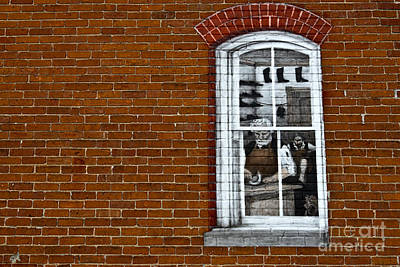 Photograph - Window On Brick by David Arment