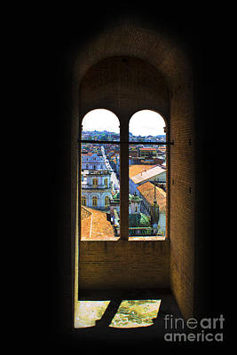 Immaculate Photograph - Window On Cuenca by Al Bourassa