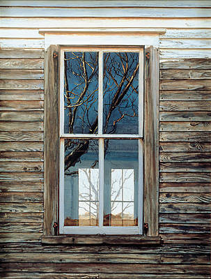 Egg Tempera Painting - Window On Georgia by Peter Muzyka