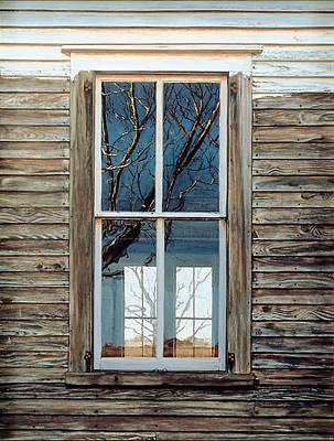 Window On Georgia Art Print by Peter Muzyka