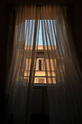 Window On Rome Art Print