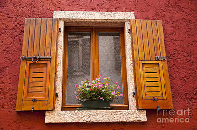 Photograph - Window On The Italian Lakes by Brenda Kean