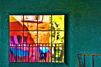 Photograph - Window Painting by Maria Coulson