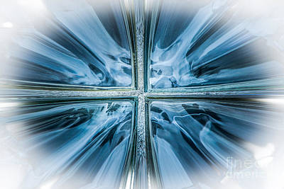 Photograph - Window Pane Explosion by Grace Grogan