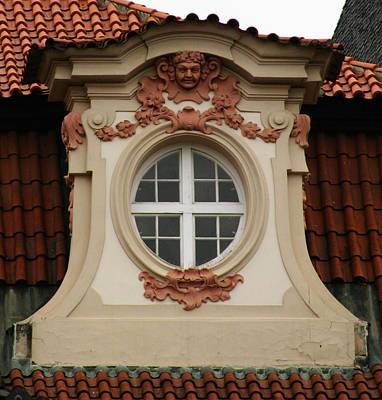 window Prague Art Print
