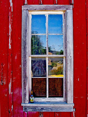 Photograph - Window Reflections. by David and Carol Kelly