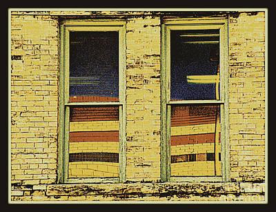 Window Sediment Art Print