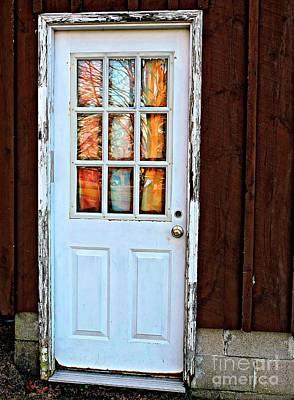 Photograph - Window Series # 1 by Marcia Lee Jones