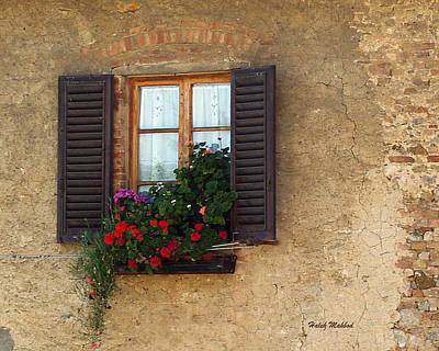 Photograph - Window Series 1 by Haleh Mahbod