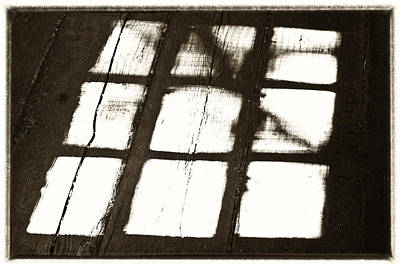 Window Shadow Art Print by Craig Brown