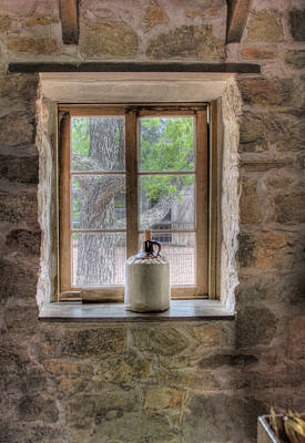 Photograph - Window 'shine by David and Carol Kelly