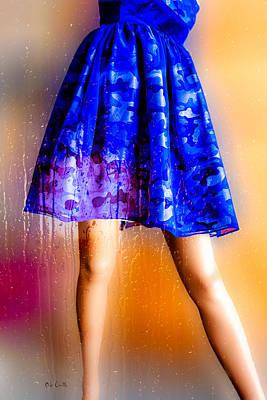 Photograph - Window Shopping In The Rain by Bob Orsillo