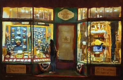 Painting - Window Shopping by Jeffrey Kolker
