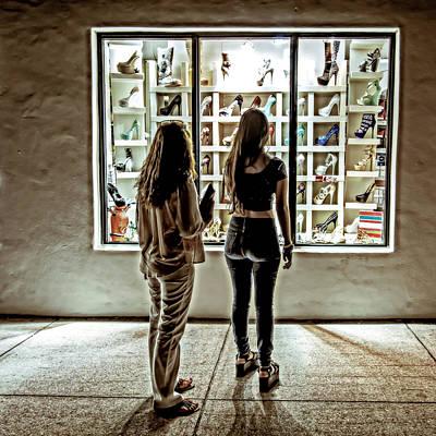 Photograph - Window Shopping by Melinda Ledsome
