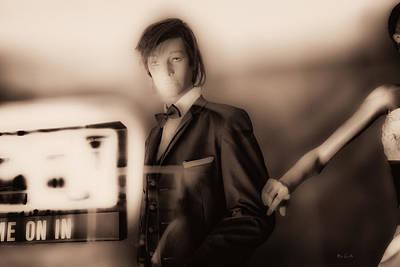 Photograph - Window Shopping Shy by Bob Orsillo