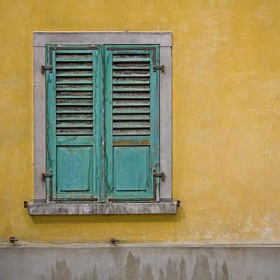 Heiko Koehrerwagner Photograph - Window Shutter by Heiko Koehrer-Wagner