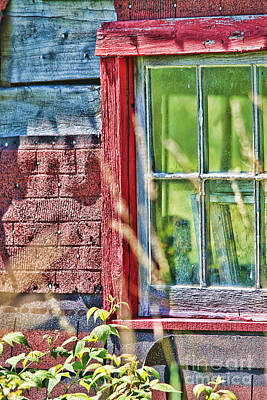 Photograph - Window Story by Cathy Beharriell