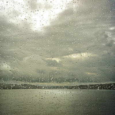 Photograph - Window Tears by Sally Banfill