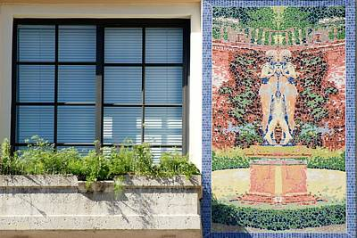 Photograph - Window Tiles by Rob Hans