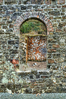 Photograph - Window To A Bygone Heritage by Steve Purnell