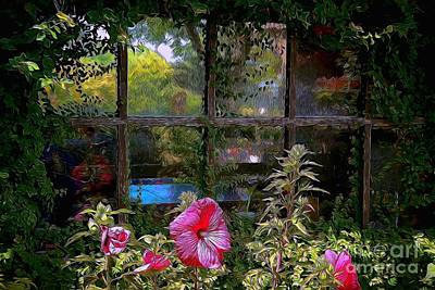 Photograph - Window To Another World by Patrick Witz