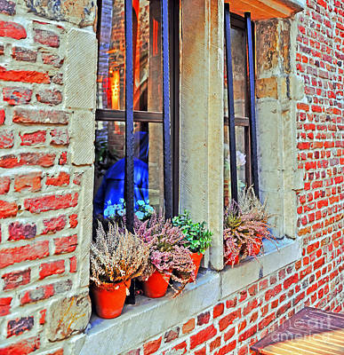 Photograph - Window To Antwerp by Elvis Vaughn