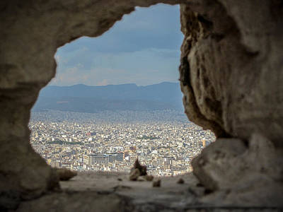 Photograph - Window To Athens by Anthony Doudt