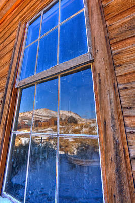 Window To Bodie Art Print