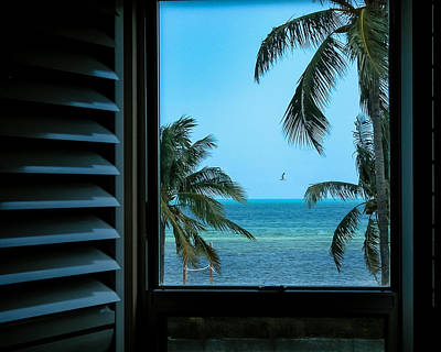 Window To Smathers Beach Art Print
