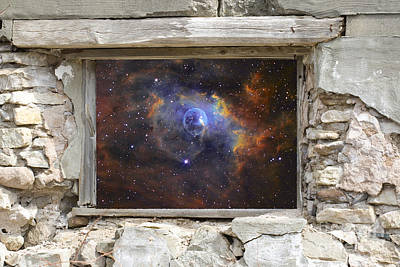 Window To Space Art Print