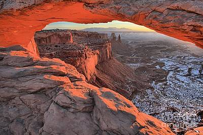 Photograph - Window To The Canyonlands by Adam Jewell