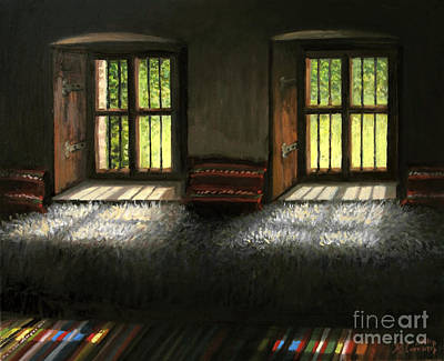 Window To The Past Art Print by Kiril Stanchev