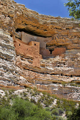 Historic Architecture Photograph - Window To The Past - Montezuma Castle by Christine Till