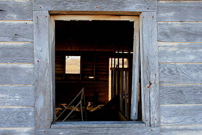Photograph - Window To The Past by Trent Mallett